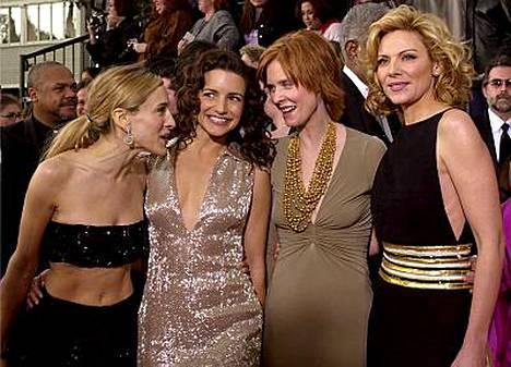 Sinkkuelämän naiset kokoontuvat vielä kerran yhteen.