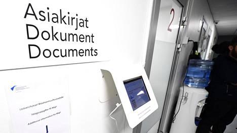 Maahanmuuttoviraston Helsingin palvelupiste 31. lokakuuta 2019.