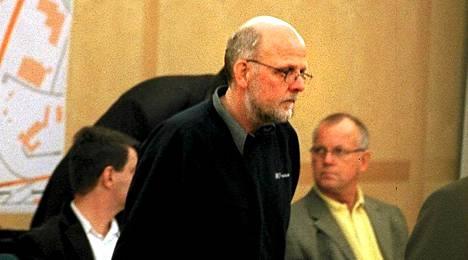 Sture Bergwall oikeudessa vuonna 2001.