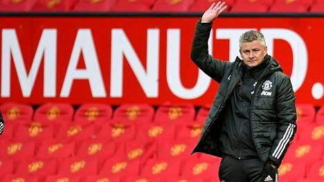 Ole Gunnar Solskjär jatkaa Man Unitedissa.