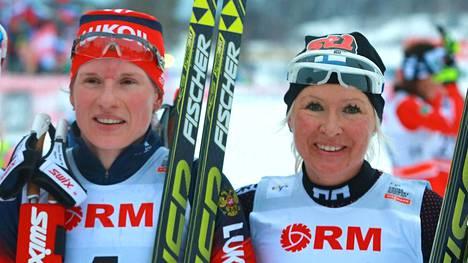Riitta-Liisa Roponen sijoittui kolmanneksi maailmancupin kisoissa Rybinskissä tammikuussa 2015. Hiljattain Roposen sijoitus kohentui kakkostilaksi, kun Julia Tshekalevan suoritus hylättiin dopingkäryn myötä.