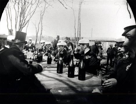 Vappu vuonna 1891.