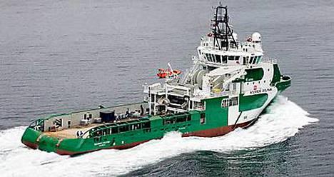 Bourbon Dolphin kaatui eilen Pohjanmerellä.