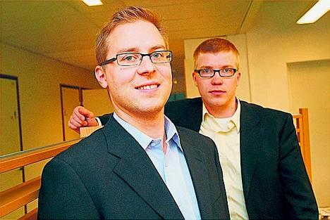 Janne Kurjenniemen ja Anssi Tauriaisen yrityksen tuotteet auttavat operaattoreita.