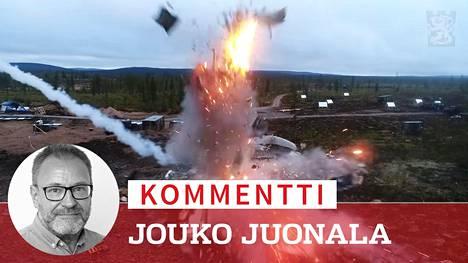 Etsi ja lamauta! on puolustusvoimien uusi video maavoimien vaikuttamisharjoituksesta Rovajärvellä.