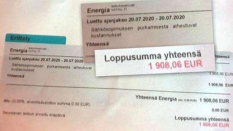 Savolaisyrittäjä irtisanoi sähkösopimuksen, joka oli tehty määräaikaisena kolmeksi vuodeksi. Sopimuksen irtisanomisesta hänelle lankesi yli 1900 euron sopimussakko.