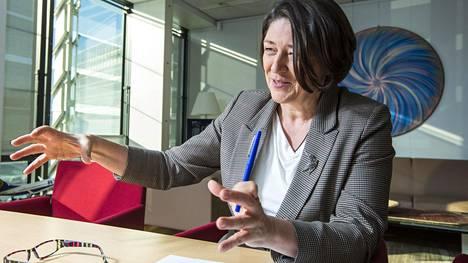 EU:n liikennekomissaari Violeta Bulc.