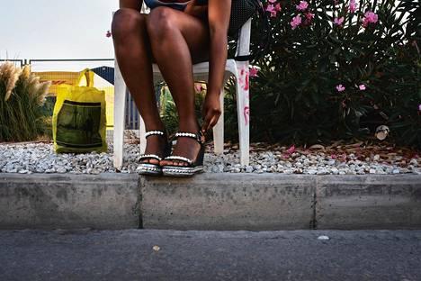 Suurin osa prostituoiduista on ihmiskaupan uhreja.