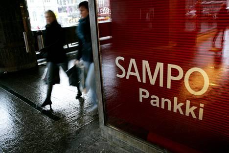 Sampo Pankin logo ja muu ulkoasu muuttuvat samalla, kun järjestelmät yhdistetään Danske Bankiin pääsiäisenä.