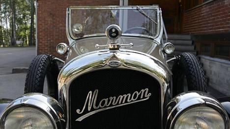 90-vuotias Marmon valmiina ajomatkalle.
