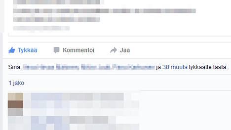 Facebook Tykkäykset
