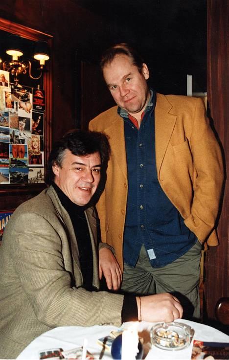 Aake Kalliala ja Jussi Parviainen vuonna 1996.