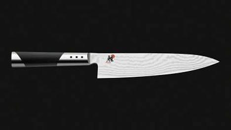 Miyabi-veitsi oli testivoittaja.