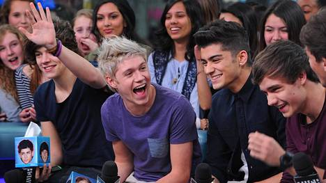 One Direction oli aikansa suosituimpia poikabändejä.