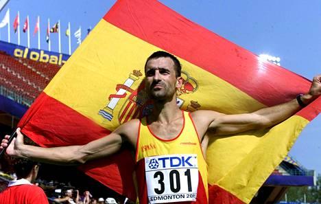 Edmontonissa 2011 Garcia käveli 50 kilometrillä MM-hopeaa.