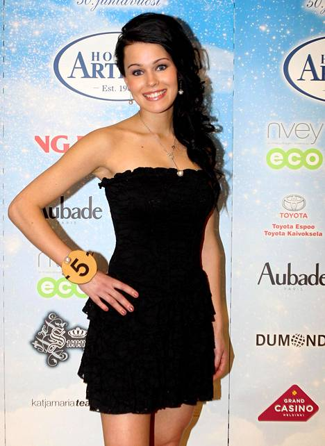 Sieppi vonna 2011 finalistien julkistamistilaisuudessa.