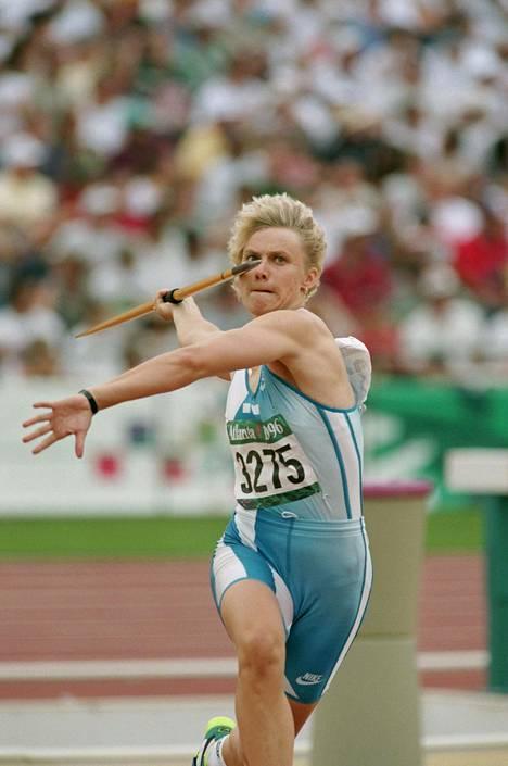 Atlantan kesäolympialaisten karsintaheitto 26. heinäkuuta 1996.
