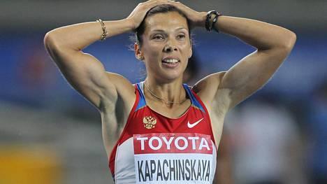 Dopingtestien uudelleenanalysointi osoitti Anastasia Kapatshinskajan käyttäneen vilpillisiä keinoja Pekingin olympialaisissa 2008.
