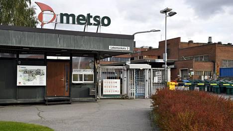 Metso Mineralsin tehdas Tampereella syksyllä 2018.