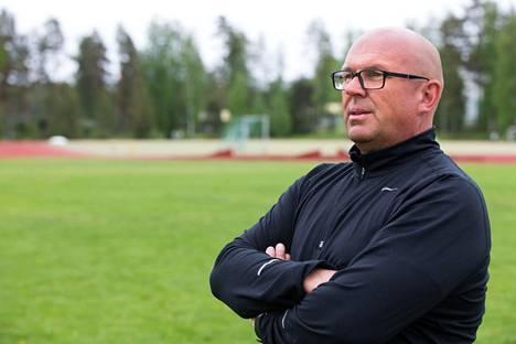 Jarmo Hirvonen toimii Antti Ruuskasen valmentajana.