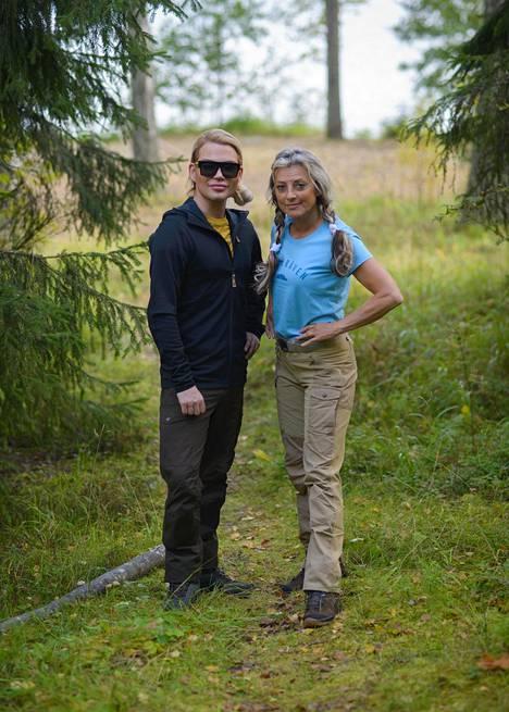 Juha Immonen ja Kike Elomaa joutuvan selviytymään luonnossa Julkkisselviytyjissä.