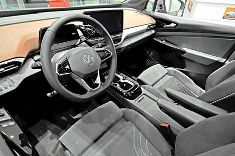 Yleinen laatuvaikutelma on Volkswagenille totutusti siisti.