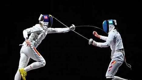 Tokiossa ratkottiin jo lauantaina kalpamiekkailun mitalit naisten sarjassa.