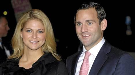 Prinsessa Madeleine ja hänen entinen poikaystävänsä Jonas Bergström.