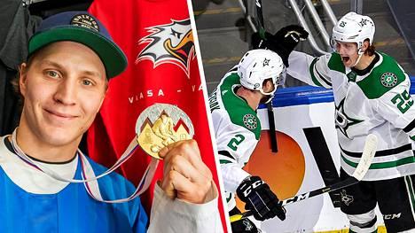Keväällä 2019 Joel Kiviranta pääsi juhlimaan Leijonien historian kolmatta MM-kultaa. Tällä hetkellä hän taistelee Dallasin paidassa Stanley Cup -pokaalista.