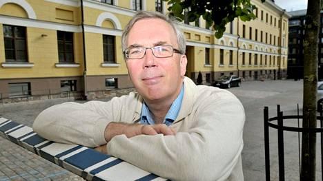 Puolustusministeriön viestintäjohtaja Max Arhippainen.