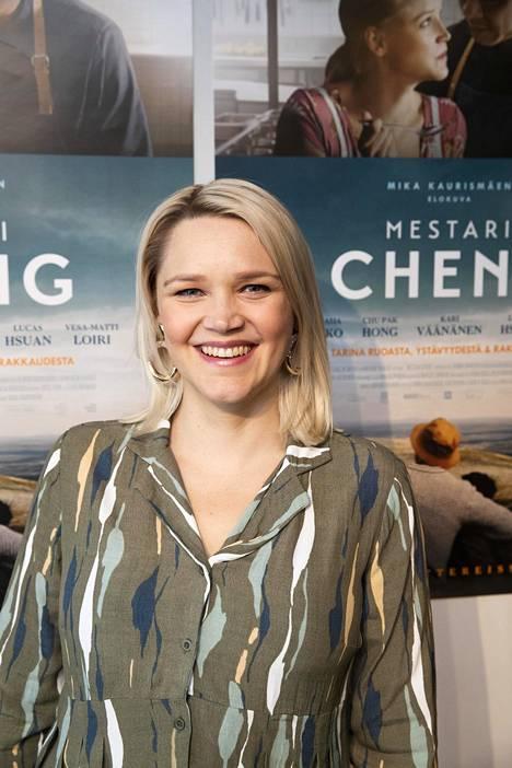 Anna-Maija Tuokko kuvasi osan elokuvasta ollessaan raskaana.
