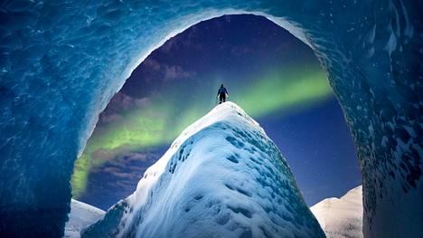 Valokuvaaja Paul Zizka on vieraillut kaikissa maanosissa. Tähän kuvaan hän ikuisti Grönlannin mannerjäätikön.
