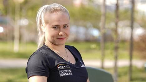 Petra Olli kuvattuna Seinäjoella vuonna 2019.