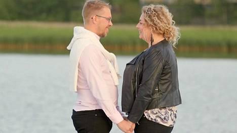 Markus ja Johanna olivat viime kaudella onnekkaita, sillä he löysivät toisensa keskittymällä toistensa hyviin puoliin.