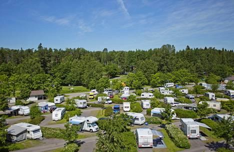 Leirintäalueet ovat oleellinen osa karavaanarikulttuuria.