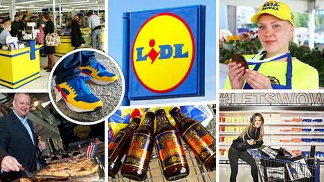 Saksalainen kauppaketju Lidl on toiminut Suomessa 18 vuotta.