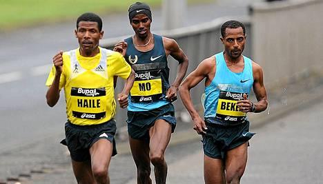 Gebrselassie haastoi Mo Farahin ja Kenenisa Bekelen syyskuussa.