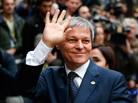 Romanian pääministeri Dacian Ciolos