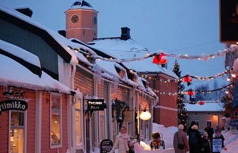 Joulunaika on Porvoossa vilkas markkina- ja tapahtumakausi.