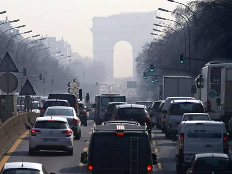 Ranskassa dieselit ovat erityisen suosittuja.