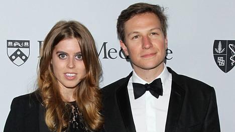 Prinsessa Beatrice ja Dave Clark ehtivät olla yhdessä kymmenen vuotta.
