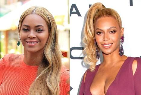 Beyoncén gaalakampaus on jo parikin kertaa ollut juhlava ja todella korkea poninhäntä.
