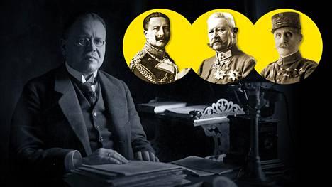 Ensimmäisen maailmansodan päättymisestä tulee kuluneeksi 100 vuotta.