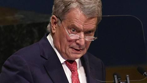 Presidentti Sauli Niinistö sanoo pitävänsä vakavana asiana, että EU:ta ei näy niissä pöydissä, joissa maailman asioista ja tulevaisuudesta päätetään.