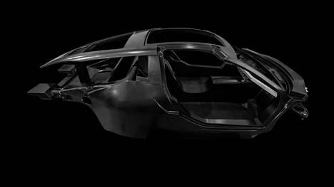 Ennen maaliskuista maailmanensi-iltaa Hispano Suiza on laskenut uutuudestaan kiusoittelevan kuvan superauton korista.