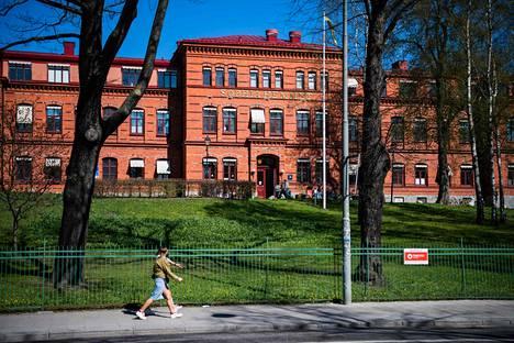 Sophiahemmetin sairaalassa Tukholmassa on testattu ihmisiä koronapandemian aikana.