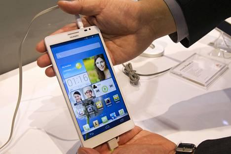 Huawei valmistaa myös älypuhelimia.