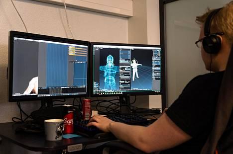 Kajaanilaisen peliyhtiö Critical Forcen työntekijöitä on 14 eri kansallisuudesta.