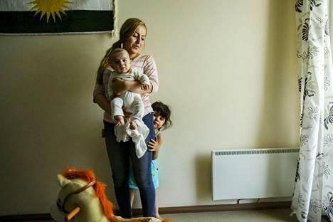 Äiti Gashaw Khaleel Hamad ja 3-vuotias tytär Sämä Huner Ali Muhammed ovat saaneet kielteisen turvapaikkapäätöksen.