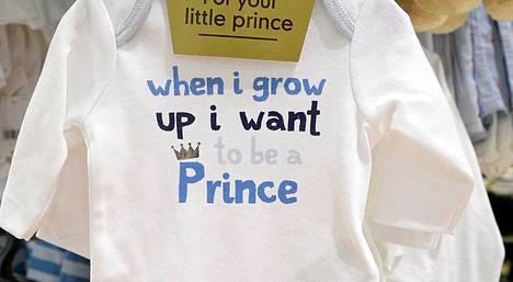 Prinssi George, maailman tunnetuin poikavauva, toimii vetonaulana muun muassa vaatekaupoissa. Toisen alan pieni perheyritys yritti myydä myös prinsessatuotteita.
